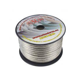 31122 Kabel 20 mm, stříbrně transparentní, 25 m bal Montážní kabely