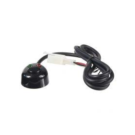 47024 Spínač tlačítkový 12/24V s LED podsvícením S LED diodou