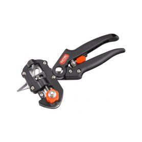 EXTOL-PREMIUM EX8872165 Nůžky roubovací, 215mm, pro průměry větví 5-12mm, nylonová rukojeť Zahradní nůžky