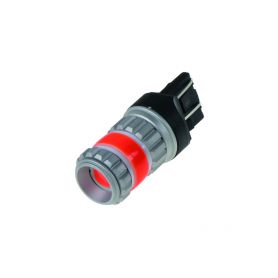 95246RED LED T20 (7443) červená, COB 360⁰, 9-60V, 12W Patice T20