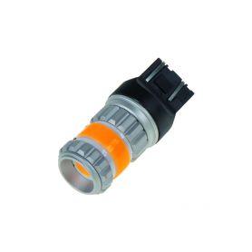95246ORA LED T20 (7443) oranžová, COB 360⁰, 9-60V, 12W Patice T20