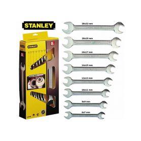 STANLEY 4-87-052 Sada klíčů 8dílná oboustranných MaxiDrive Ploché