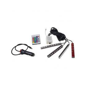 95RGB-SET02 LED podsvětlení vnitřní/vnější RGB 12V, IR, 4 pásky LED pásky