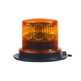911-36M PROFI LED maják 12-24V 36x1W oranžový magnet ECE R65 130x90 mm LED magnetické