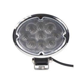 WL-CREE27OV LED světlo oválné, 9x3W, 147x150x73mm Pracovní světla a rampy