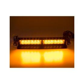 KF752 PREDATOR LED vnitřní, 12x3W, 12-24V, oranžový, 353mm, ECE R10 Vnitřní