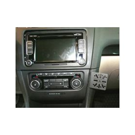 701330 GSM konzole pro VW Golf VI 2009- Instalační konzole