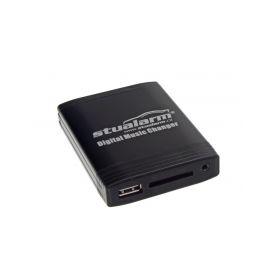55XCFA001 YATOUR - ovládání USB zařízení OEM rádiem Fiat Blaupunkt/AUX vstup USB adaptéry Yatour