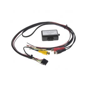 MI094 adaptér A/V výstup pro OEM navigaci VW RNS-510 (MFD3) se zpětnou kamerou nebo TV tunerem AV adaptéry Audi Škoda VW