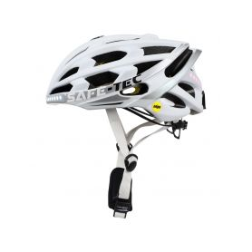SAFE-TEC 2101-078 TYR 3 White S (53cm - 55cm) Chytré bluetooth helmy na kolo