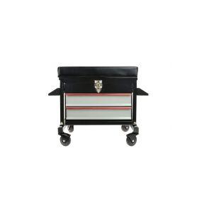 GEKO G10822 Dílenská stolička s 2 zásuvkami Dílenský nábytek