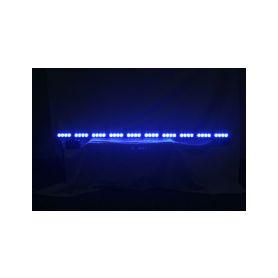 KF758-10BLU LED alej voděodolná (IP66) 12-24V, 40x LED 1W, modrá 1200mm Voděodolné