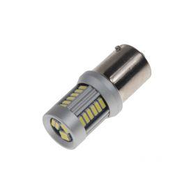 951201 LED BAU15s bílá, 12-24V, 30LED/4014SMD Patice BAU15S