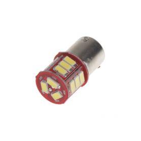 951202 LED BAU15s bílá, 12-24V, 18LED/5730SMD Patice BAU15S