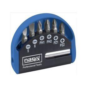 NAREX NA65404058 Sada bitů INDUSTRIAL-CrV 7dílná 7-Bit Box, 65404058 Bity