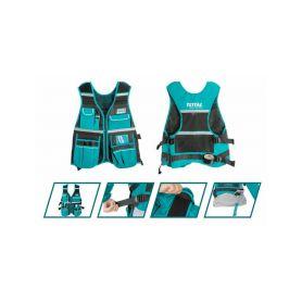 TOTAL-TOOLS TTVT1601 Vesta na nářadí, industrial Kufry a pořadače nářadí