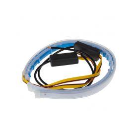 96UN01-2 LED pásek, dynamické blinkry oranžová / poziční světla bílá, 45 cm LED pásky
