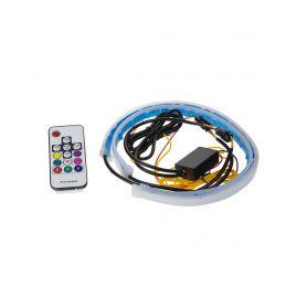 95RGB-SET10 LED podsvětlení vnitřní/vnější RGB 12V, 2 slim pásky 45cm LED pásky