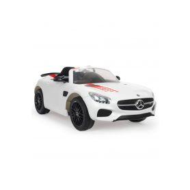 Injusa elektrické autíčko Mercedes Benz AMG GTS 12V White iMove Elektrická vozítka