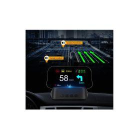 "SE153NAV HEAD UP DISPLEJ 4"" / TFT LCD, OBDII + GPS + navigační, reflexní deska BLIS, HUD projektory"