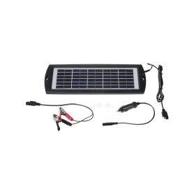 Solární nabíječka 3W pro udržovací dobíjení baterií Nabíječky 12V