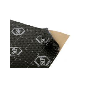 STP 375065 Black Silver antivibracni a tlumici material Izolační a tlumící materiály