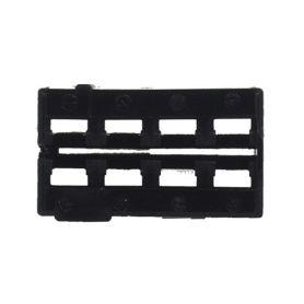 25055/2 MOST plast konektoru černý ISO - FAKRA piny, plasty
