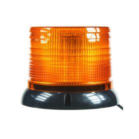 WL61 LED maják, 12-24V, oranžový magnet, homologace LED magnetické