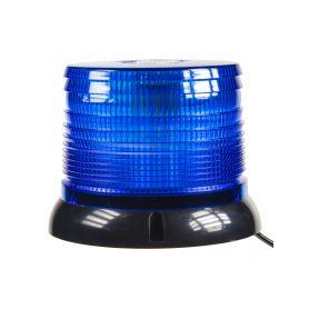 WL61BLUE LED maják, 12-24V, modrý magnet, homologace LED magnetické