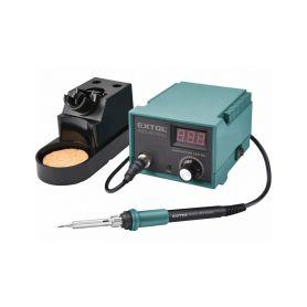 EXTOL-INDUSTRIAL EX8794520 Stanice pájecí s LCD a el. regulací teploty, záruka 3 roky - 1