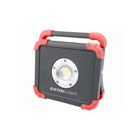 EXTOL-LIGHT EX43134 Reflector LED nabíjecí s powerbankou, 2000lm Ruční svítilny