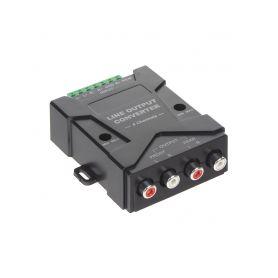 PC1-612 4 kanálová redukce repro/CINCH nastavitelná Odrušovací filtry/převodníky