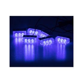 KF745-6BLUE PREDATOR LED do mřížky, 12V, modrý Do mřížek chladiče
