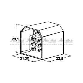 IMP 428971 Kryt 11 ks koliku 6,3 mm Izolační kryty Faston