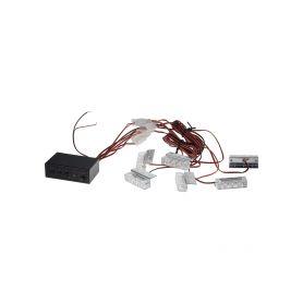CarClever LED T10 bílá, 12V, 9LED/3SMD 1-95204