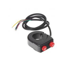 KF-SW04M Spínač světel/predátorů/zvukových systémů na motocykl Multipřepínače