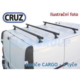 Střešní nosič Opel Movano / Renault Master / Nissan NV400 (3 příčníky 35x35), CRUZ Bez hagusů