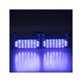 LED sufit (39mm) modrá, 12V, 3LED/3SMD