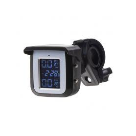 TPMSM-X1 TPMS kontrola tlaku v pneumatice pro motocykly / solární napájení Motocykly