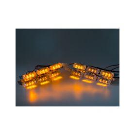 KF746-4 PREDATOR LED do mřížky, 12V, oranžový Do mřížek chladiče