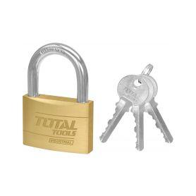TOTAL-TOOLS TLK32602 Zámek, 60mm, 385g Schránky a zámky