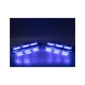 KF746-4BLUE PREDATOR LED do mřížky, 12V, modrý Do mřížek chladiče