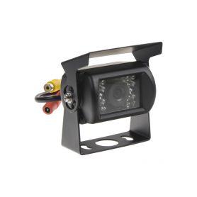 C-CCD01 Kamera CCD s IR světlem, vnější PAL Zadní kamery UNI (RCA)
