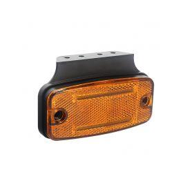 KF665ORA Boční obrysové světlo LED, oranžový obdélník, ECE R3, R91 Boční obrysová světl + tykadla