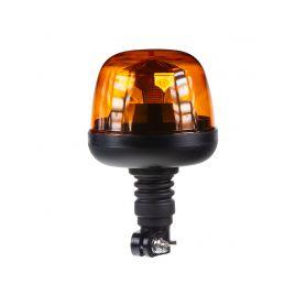 WL73HR LED maják, 12-24V, 10x1,8W, oranžový, na držák, ECE R65 R10 Majáky na tyč