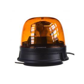 WL73 LED maják, 12-24V, 10x1,8W, oranžový, magnet, ECE R65 R10 LED magnetické
