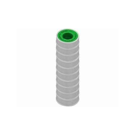EXTOL-CRAFT EX47531 Pásky těsnící teflonové, sada 10ks, 12mm x 10m Bužírky, trubičky, hadice, pásky