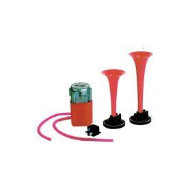 LEB 744043 2 PU 24V pneumaticke klakson S kompresorem