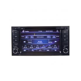 """80893 Autorádio pro VW Touareg 2004-2011 / T5 2003-2010 s 7"""" LCD, GPS, ČESKÉ MENU Pevné GPS navigace"""