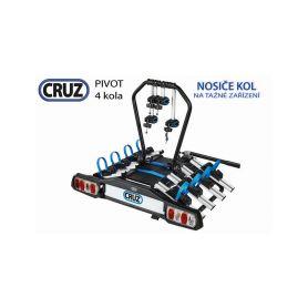 Nosič kol Cruz Pivot - 4 kola, na tažné zařízení Nosiče kol na tažné zařízení